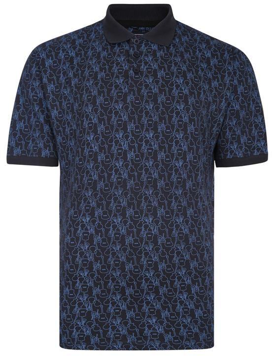 KAM 5431 Duża męska koszulka polo