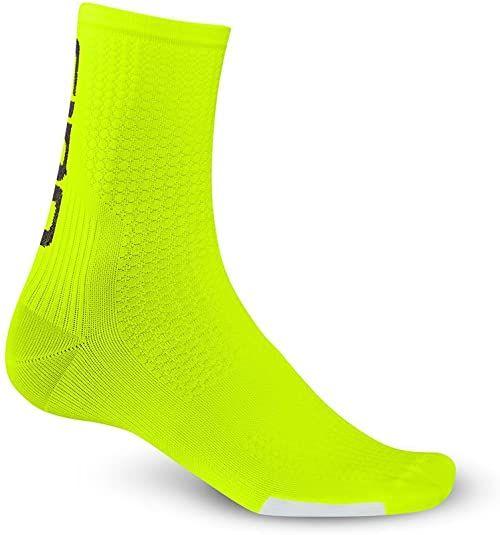 Giro Skarpety funkcyjne HRC Team odzież rowerowa, żółty highlight / czarny, S