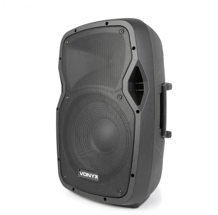 "Kolumna mobilna z mikrofonami 600W Vonyx AP1200PA 12"""
