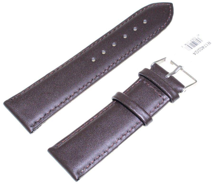 Skórzany pasek do zegarka 24 mm JVD R17402-24