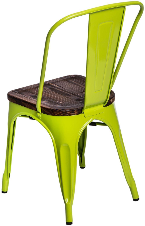D2 Krzesło Paris Wood ziel. jasny sosna