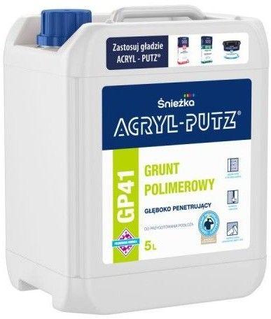 ŚNIEŻKA Acryl-Putz GP41 Grunt Polimerowy Głęboko Penetrujący