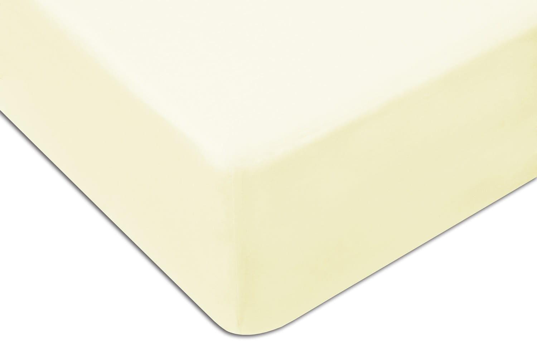 Prześcieradło Jersey 120x200 z gumką kolor ekologia / kremowe