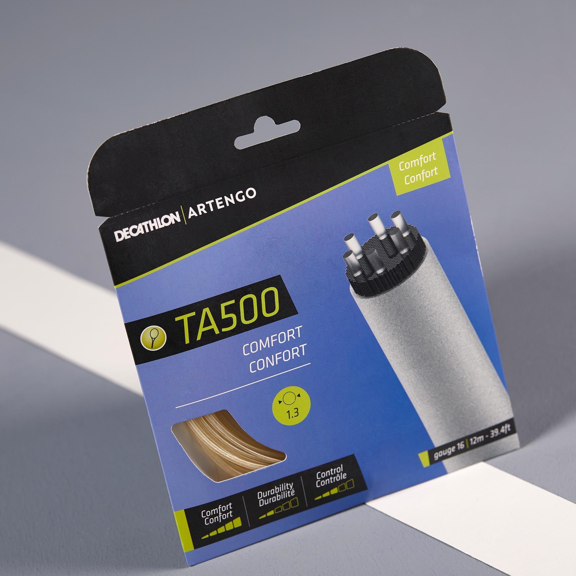 Naciąg tenisowy wielowłóknisty TA 500 CONFORT 1,3 mm