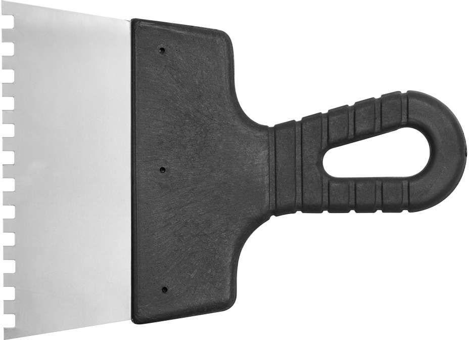 szpachla nierdzewna 200mm ząb 6 x 6mm Vorel 06302 - ZYSKAJ RABAT 30 ZŁ