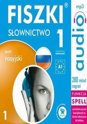 FISZKI audio j. rosyjski Słownictwo 1 - Audiobook.