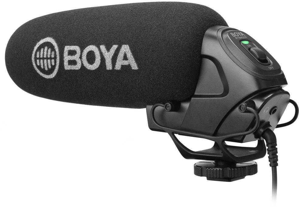 Mikrofon pojemnościowy, kierunkowy typu shotgun Boya BY-BM3030