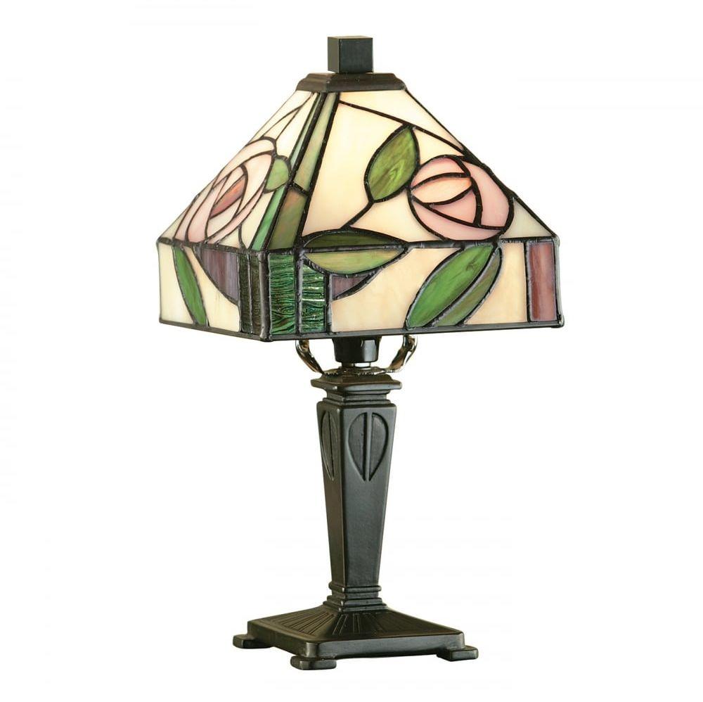 Lampa stołowa TIFFANY WILLOW - 64388 - INTERIORS 1900  Skorzystaj z kuponu -10% -KOD: OKAZJA