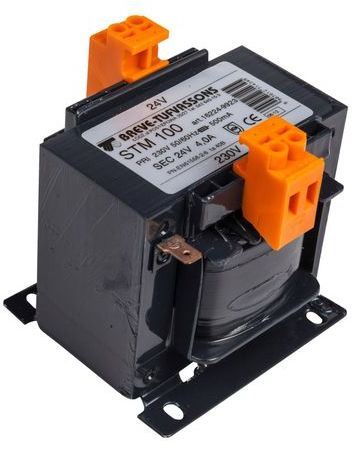 Transformator 1-fazowy STM 100VA 230/24V 16224-9923