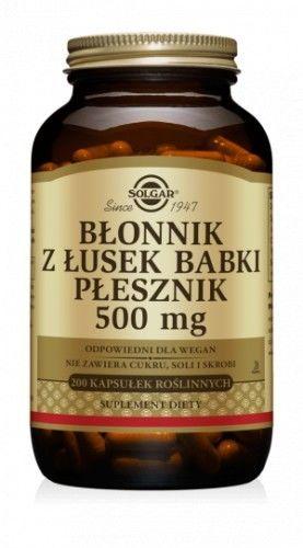 Błonnik z łusek Babki Płesznik 500 mg 200 kaps