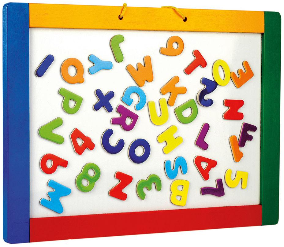 Bino Tablica magnetyczna do powieszenia z literkami