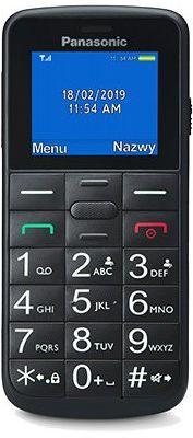 Telefon komórkowy PANASONIC KX-TU110EXB Czarny. Kup Taniej o 50 zł w Klubie.