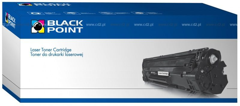 CRG-703 Canon zamiennik BLACK POINT SUPER PLUS (+75 proc. wyd.) zam. Toner Canon LBP2900, Canon LBP3000