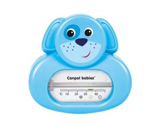 Canpol Termometr bezrtęciowy kąpielowy - Niebieski Piesek