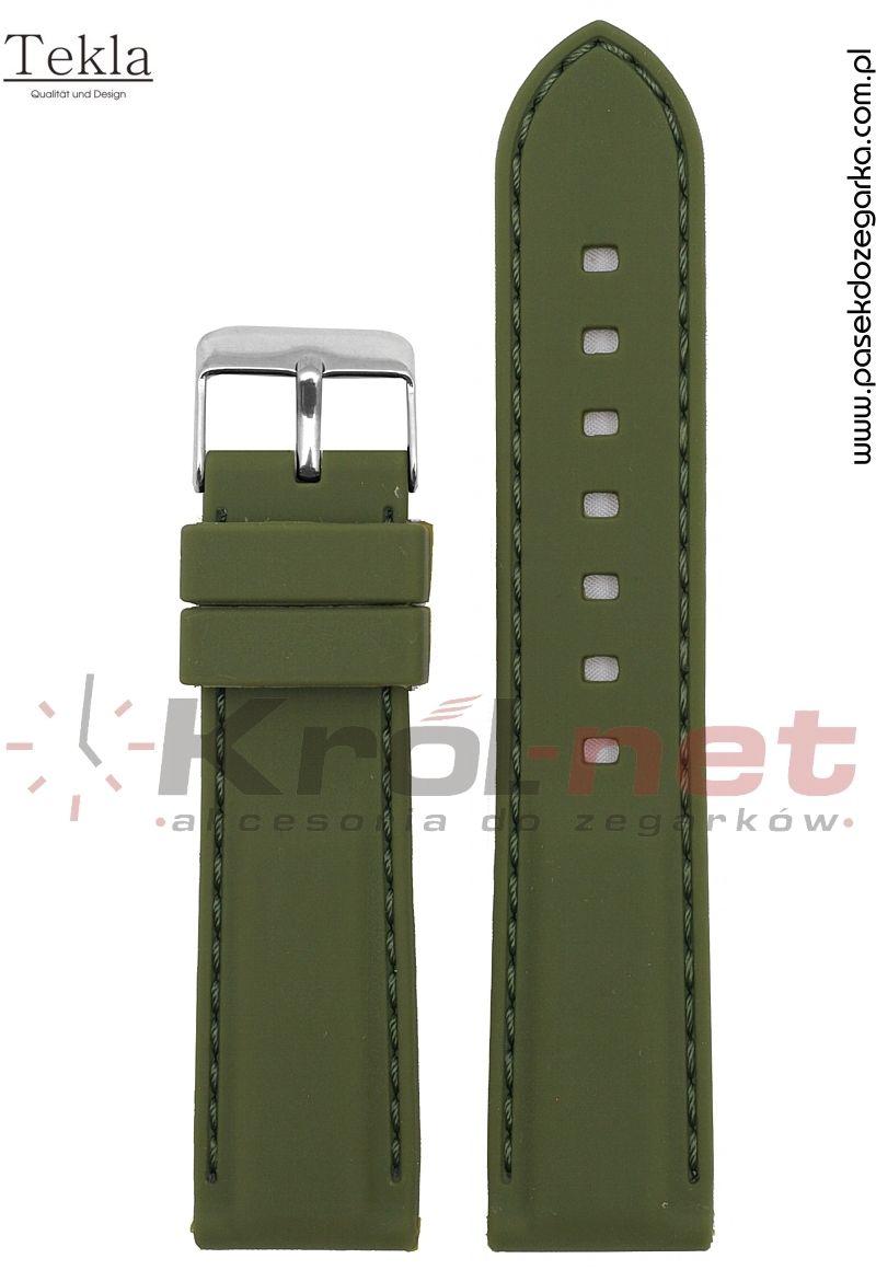 Pasek RP051ZIE/22 - zielony, silikonowy