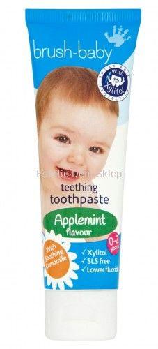 Pasta do zębów dla DZIECI BRUSH BABY 0-2 lat 50 ml