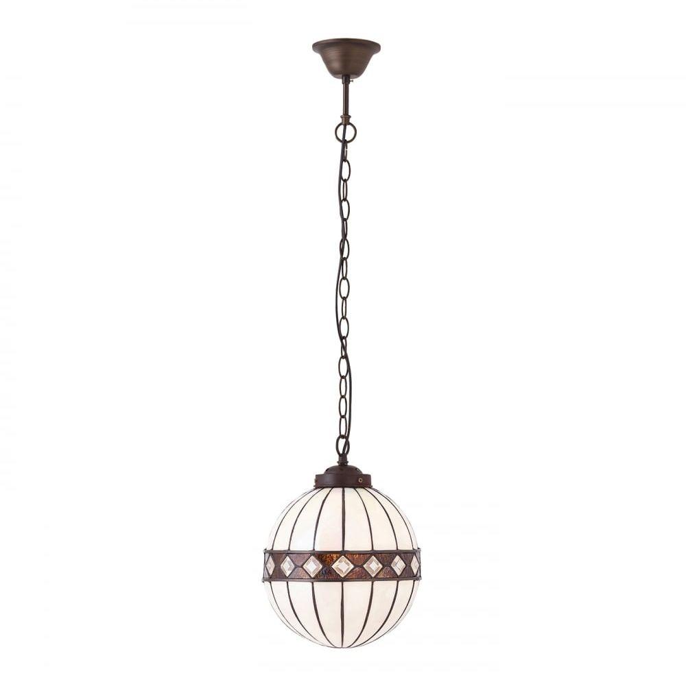 Lampa wisząca TIFFANY FARGO - 67044 - INTERIORS 1900  Skorzystaj z kuponu -10% -KOD: OKAZJA