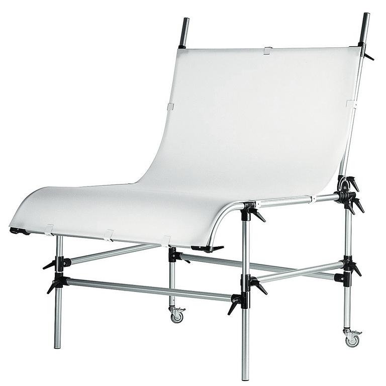 Manfrotto 220B - stolik bezcieniowy z płytą 200cm x 125cm Manfrotto 220B - stolik bezcieniowy z płytą 200cm x 125cm