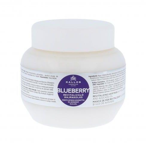 Kallos Cosmetics Blueberry maska do włosów 275 ml dla kobiet