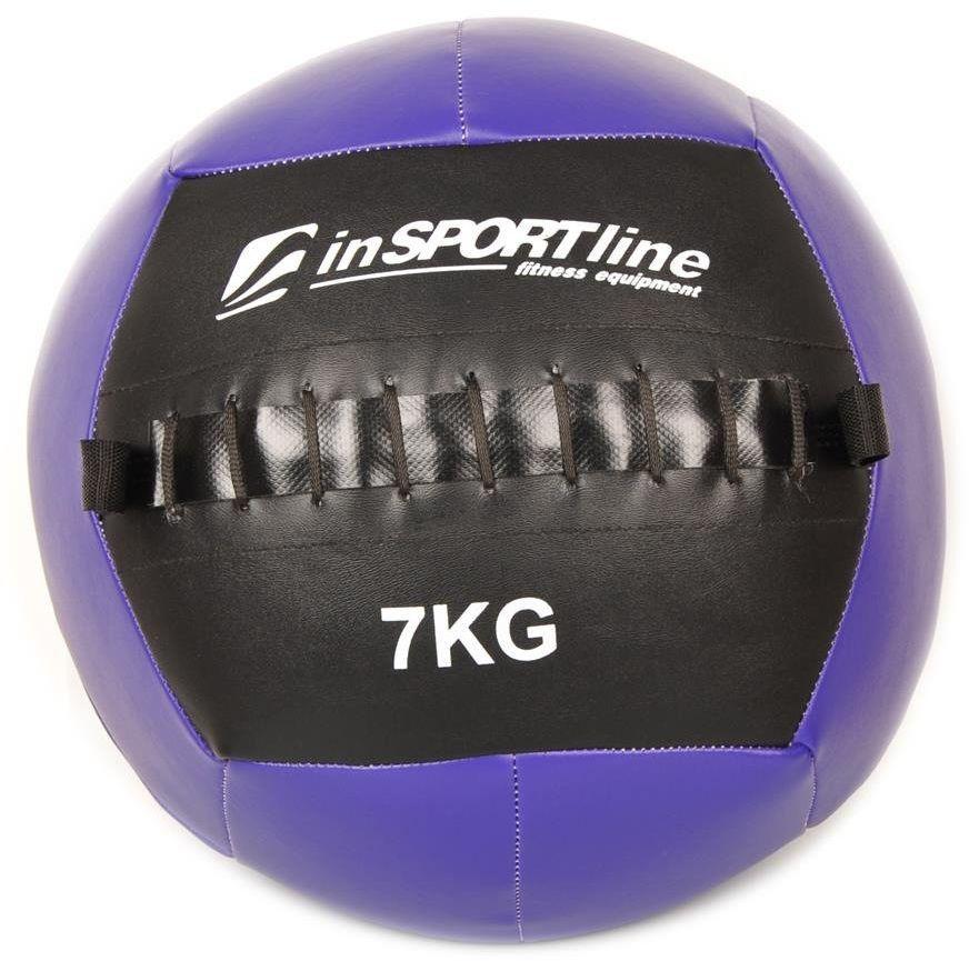 Piłka lekarska 7 kg Wallball - Insportline - 7 kg