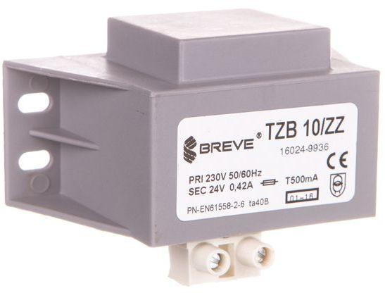 Transformator 1-fazowy żywiczny TZB 10/ZZ 230/24V 16024-9936