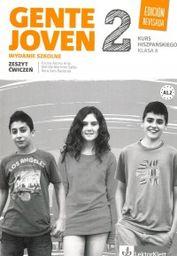Gente Joven 2 Edicion Revisada Język hiszpański 8 Zeszyt ćwiczeń ZAKŁADKA DO KSIĄŻEK GRATIS DO KAŻDEGO ZAMÓWIENIA