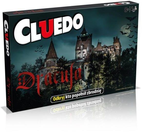 Cluedo Dracula ZAKŁADKA DO KSIĄŻEK GRATIS DO KAŻDEGO ZAMÓWIENIA