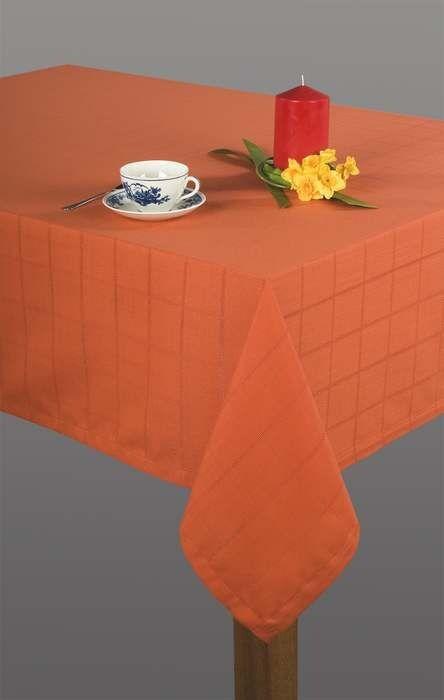 Obrus Kaja 140x300 Pomarańczowy