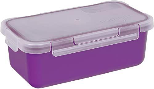 Valira Porta szczelny pojemnik na żywność o pojemności 0,75 l, fioletowy, 19,2 x 10,5 x 7,2 cm