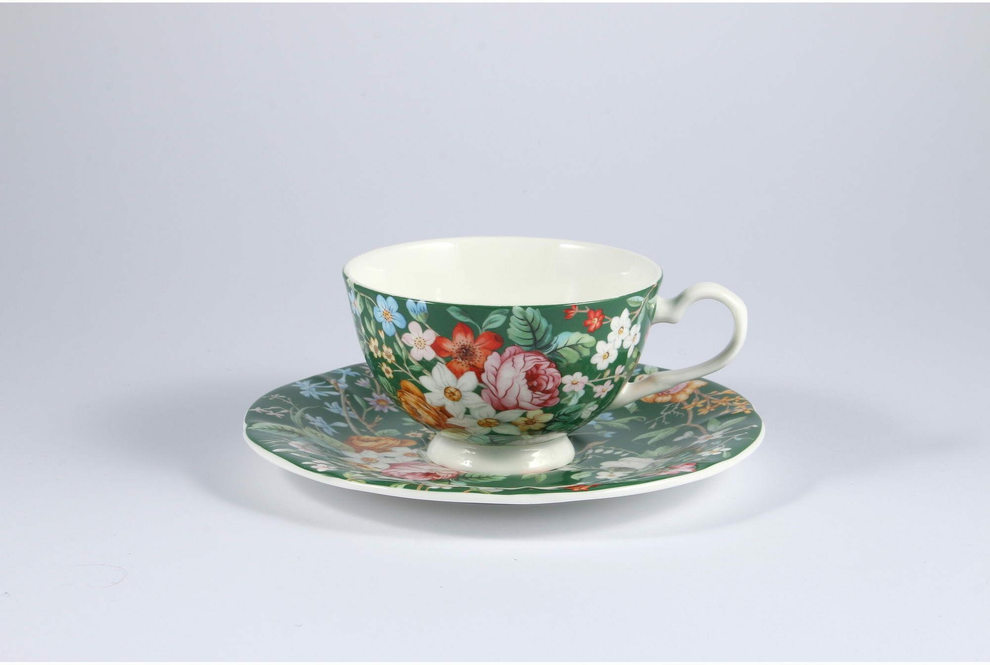 P4Y, filiżanka do herbaty KWIATY