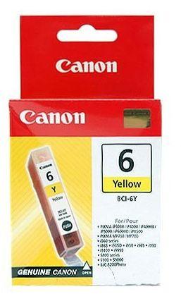 Wkład żółty CANON BCI-6Y (13 ml) (4708A002)