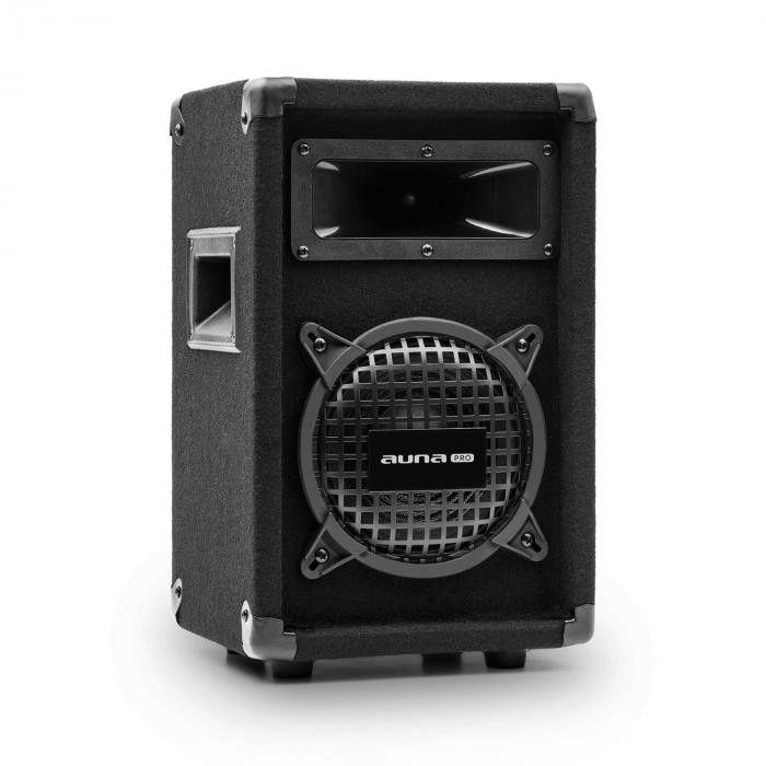 Auna Pro PW-0622 MKII, pasywna kolumna nagłośnieniowa, 6,5-calowy subwoofer, 125 W RMS/ 250 W