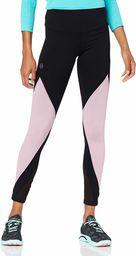 Under Armour damskie legginsy szczytu Black/Pink Fog/Black (006) L