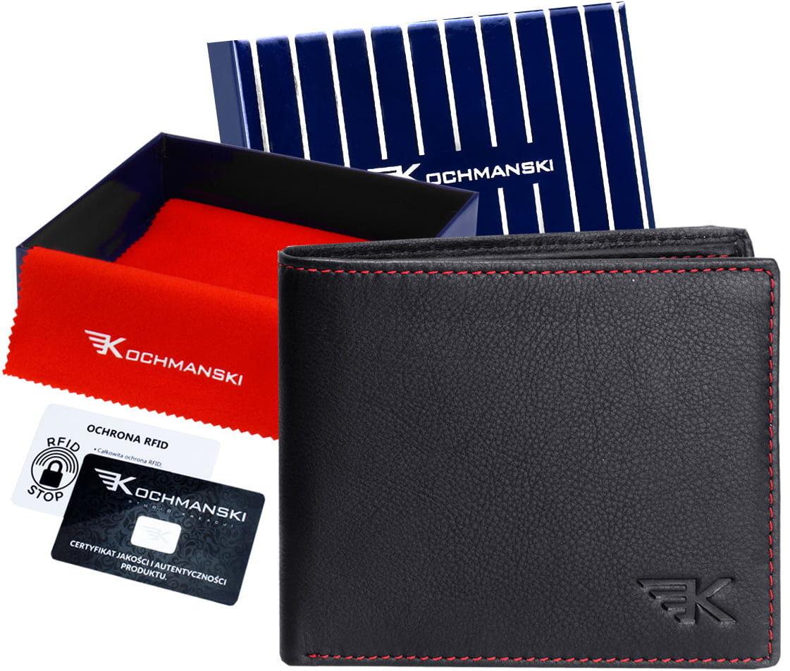 KOCHMANSKI skórzany portfel męski PREMIUM mały 3012