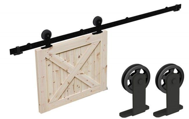 Komplet złączek Modi do systemu drzwi przesuwnych Mantion Roc Design (skrzydło: max.100 kg, max.szer. 1250 mm, max. gr. 30-42 mm), rolka ażurowa, czar