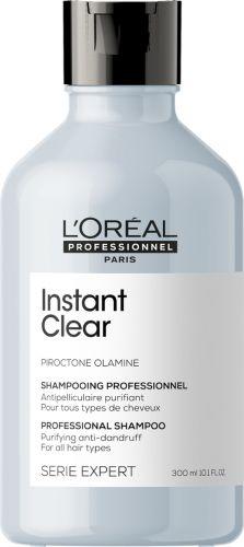 L Oréal Professionnel Instant Clear Szampon przeciwłupieżowy do włosów normalnych i przetłuszczających się 300 ml