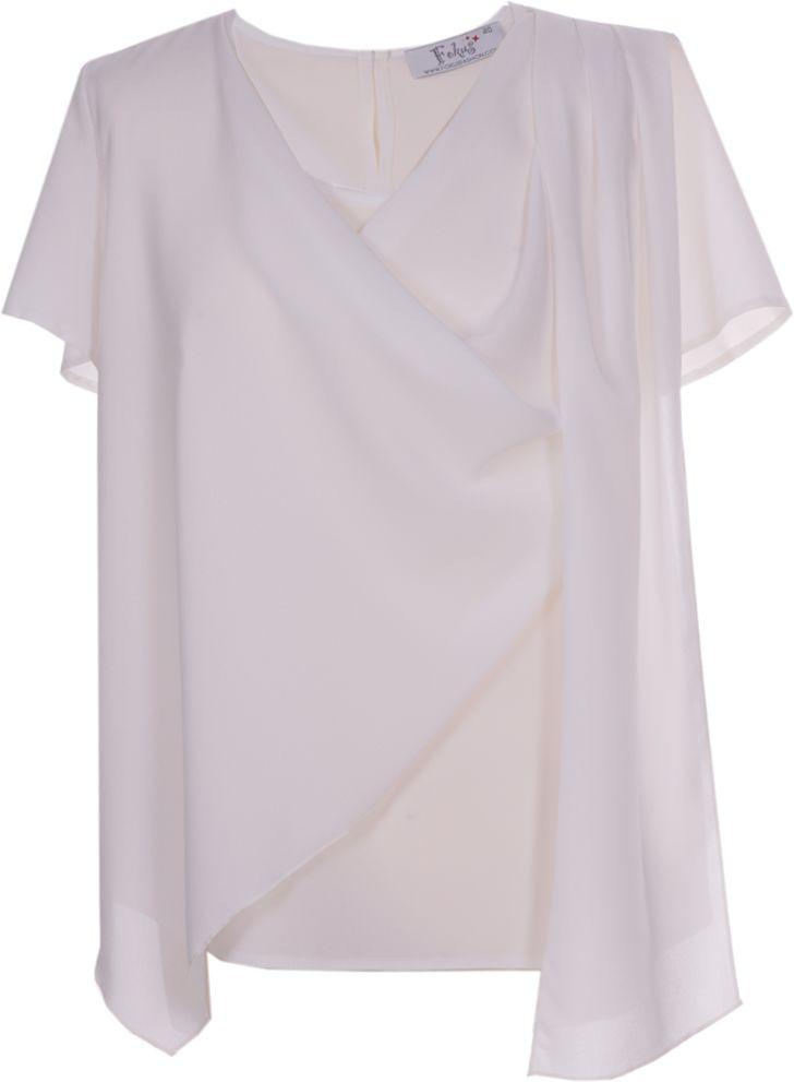 Bluzki wizytowe Bluzka FBZ601 EKRI