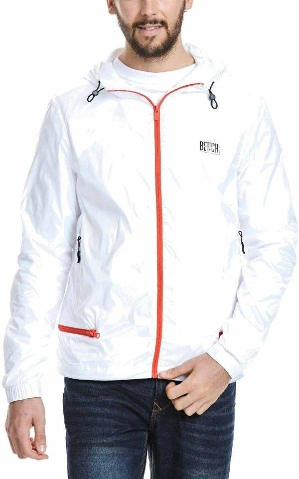 kurtka BENCH - Jacket White (WH001)