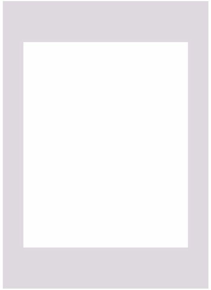 Passe-partout 148 białe 50 x 70 cm