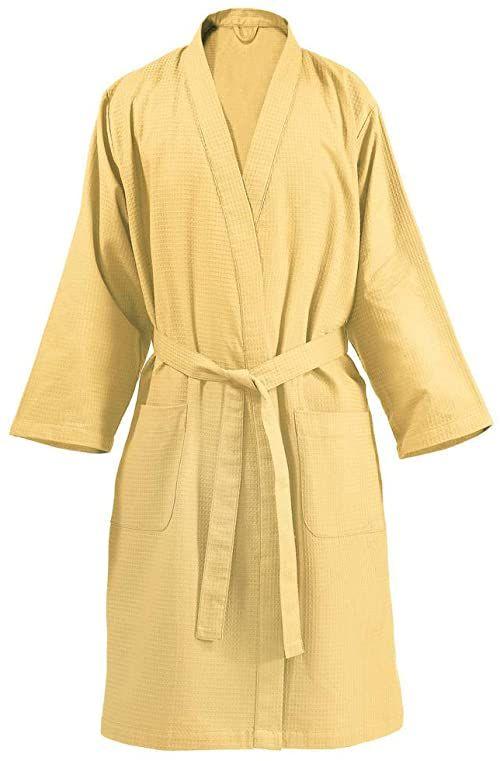 One Couture Płaszcz kąpielowy, żółty, rozmiar XL