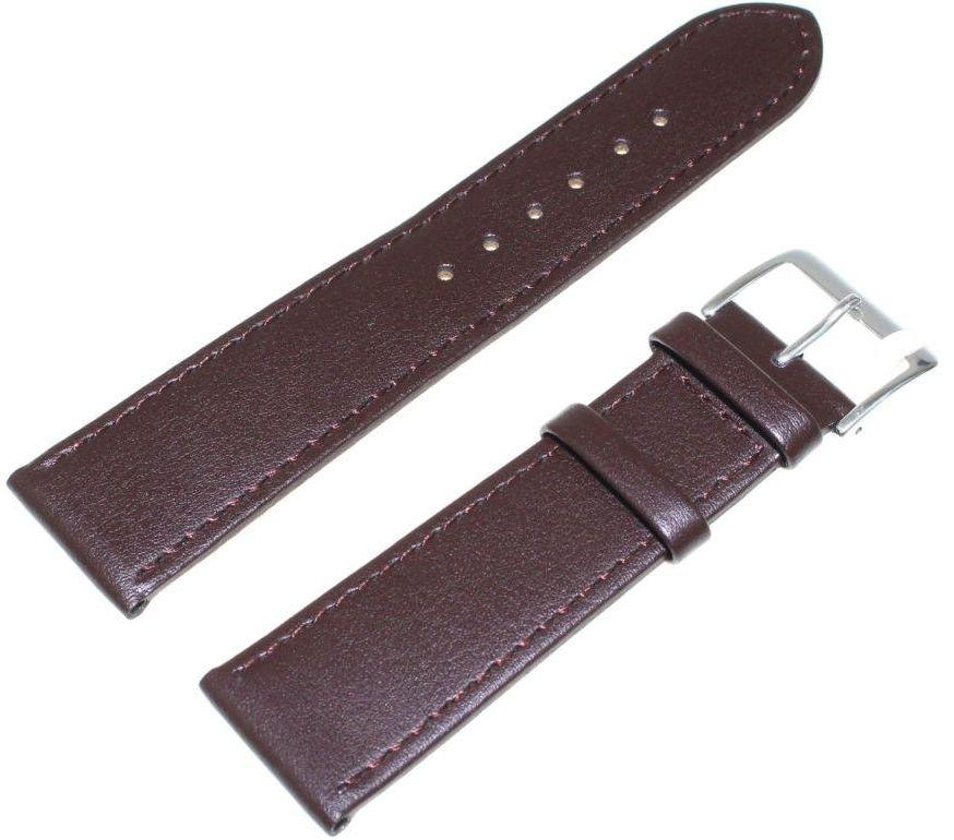 Skórzany pasek do zegarka 22 mm JVD R18202-22