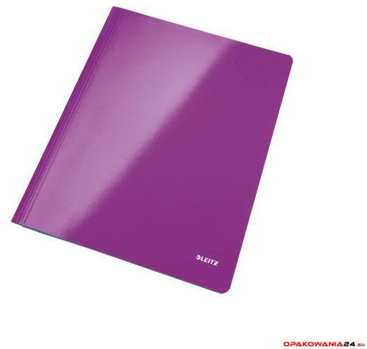 Skoroszyt kartonowy WOW LEITZ fioletowy 30010062