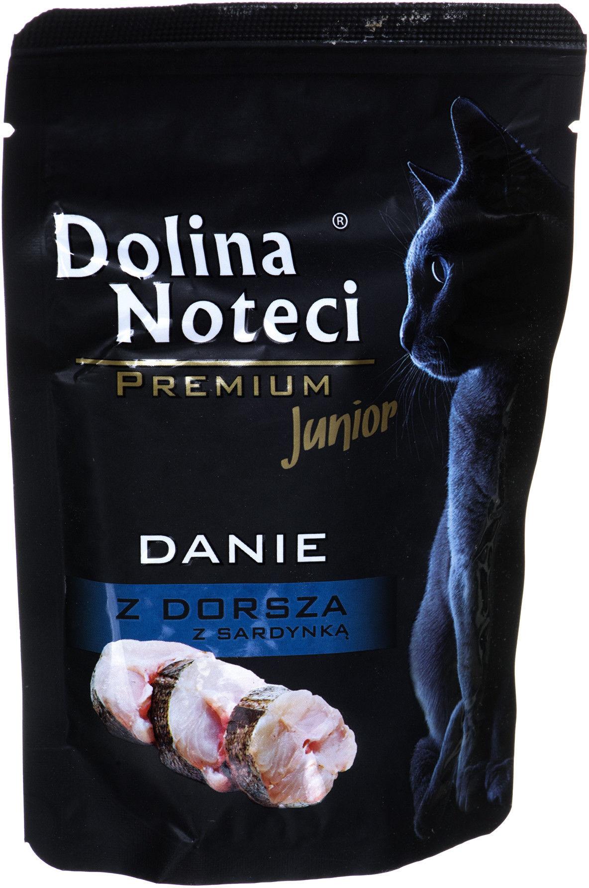Dolina Noteci Premium 85g JUNIOR Danie z Dorsza z Sardynką