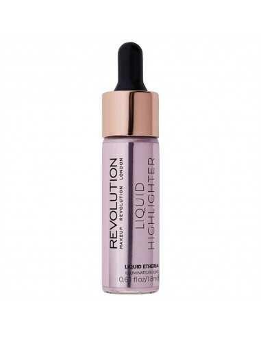 Makeup Revolution Liquid Highlighter Ethereal płynny rozświetlacz do twarzy