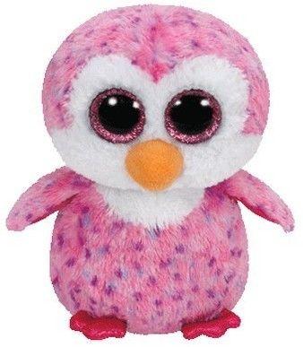 TY Pupilki Beanie Boos pingwin Glinder 15cm