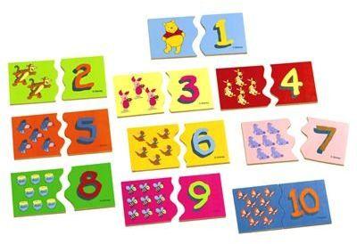 Eichhorn 3023 Winnie the Pooh puzzle edukacyjne, 20-częściowy