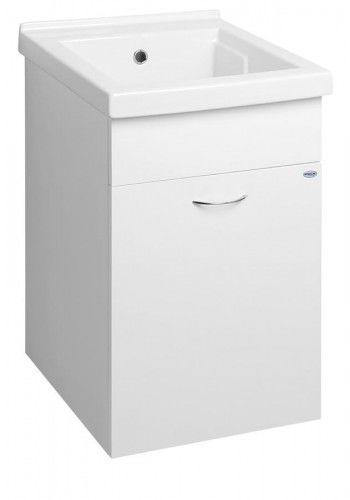 Szafka łazienkowa z umywalką 43x70x47,8 cm wisząca/stojąca