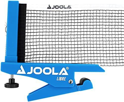 JOOLA siatka do tenisa stołowego LIBRE- OUTDOOR zestaw do tenisa stołowego do sportów rekreacyjnych - technika zaciskowa - regulacja wysokości za pomocą śruby ustalającej