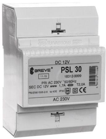 Zasilacz transformatorowy PSL 30 230VAC/12VDC 20W 1,7A 18312-9999