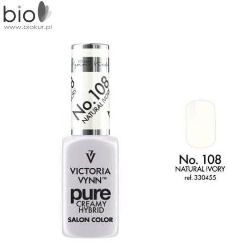 Lakier hybrydowy VICTORIA VYNN PURE 108 NATURAL IVORY - 8 ml